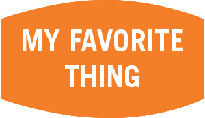 My Favorite Thing graphic