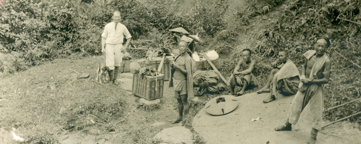 Edgar Shields sent this photo of himself in China